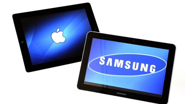 Samsung verliert gegen Apple die Berufung