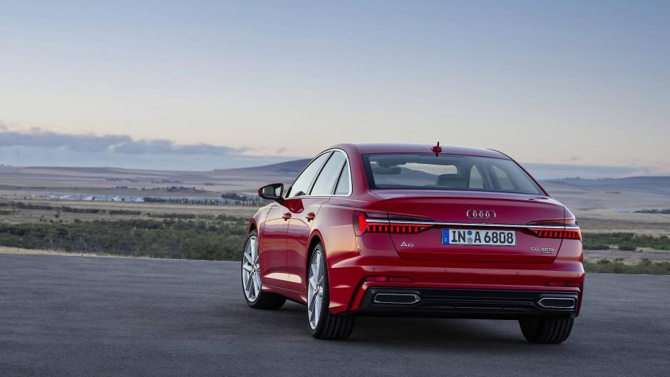 Alle V6-Versionen werden nicht nur als Grundmodelle, sondern auch als A6 TFSI Sport- und Design-Varianten kommen.