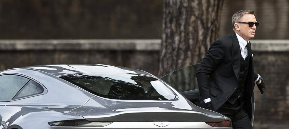 """Lieblings James-Bond-Dreh in Rom: Gewagte Autostunts für """"Spectre"""" &YU_04"""