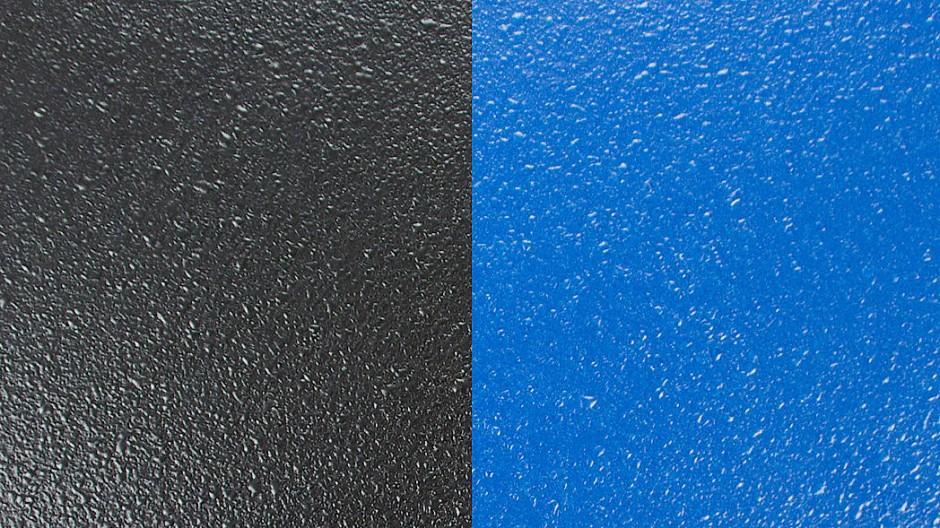 Farbenfroh: In der transparenten Version lässt sich die Polyurethan-Beschichtung beliebig einfärben