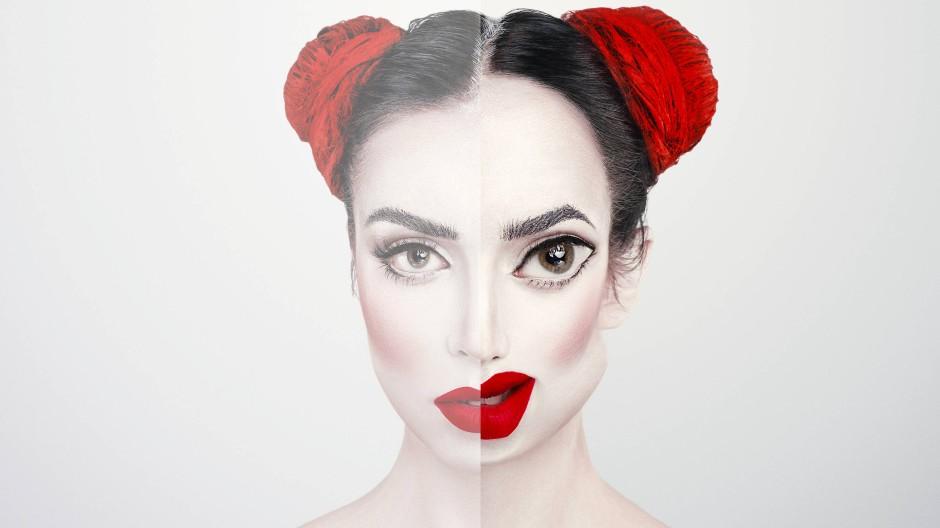 Halbwahrheiten: Augen, Mund und Nase im Photoshop bearbeitet