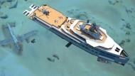 Entwurf der Expeditionsyacht Sea Xplorer 75 der niederländischen Werft Damen.