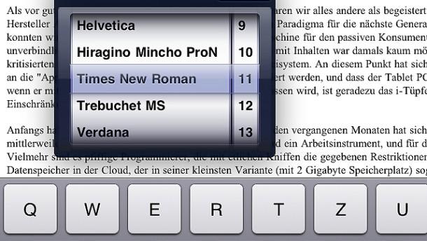 Das iPad wird zum Arbeitsgerät