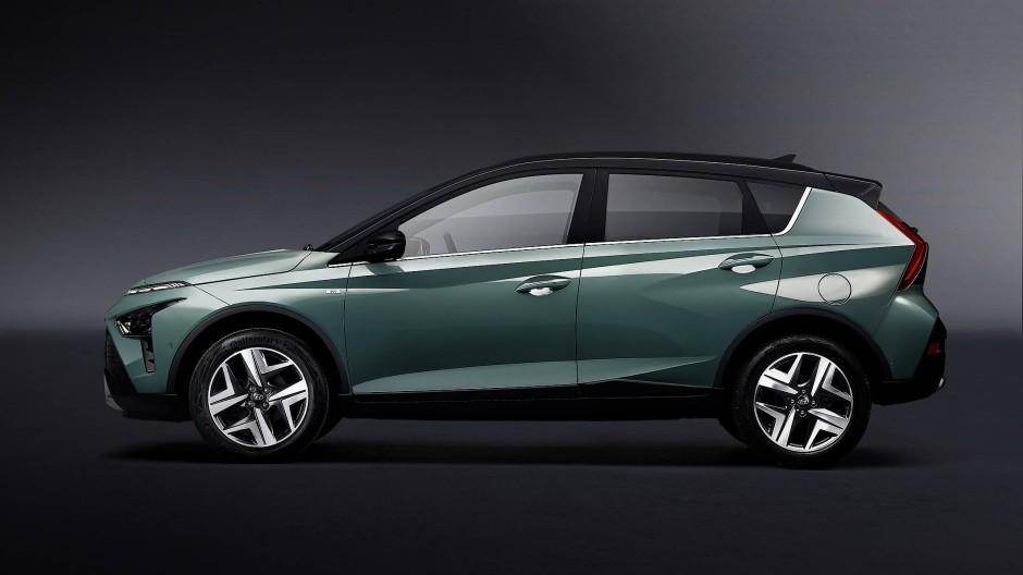 Den Bayon ordnet Hyundai in der Rubrik Crossover ein.
