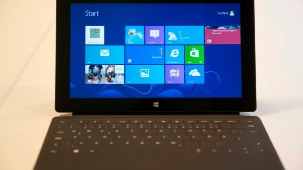 Surface Pro auf der Cebit