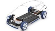 Das Elektroauto wird wie eine Art Kiste um die Batteriezellen herumgebaut. Es hat deutlich weniger Teile als ein Fahrzeug mit Verbrennungsmotor.