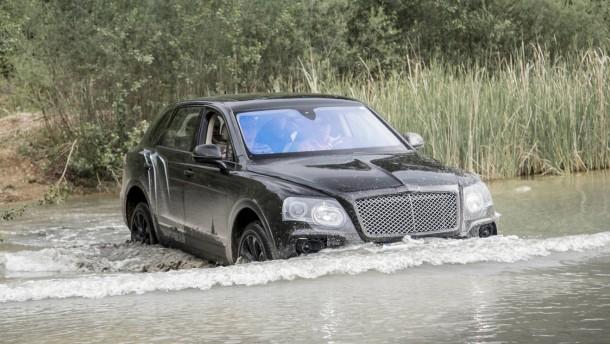 Bentley hat den Range Rover satt