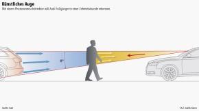 Infografik / Technik und Motor / Künstliches Auge