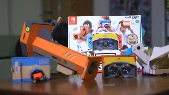 Mit Pappe in die Virtuelle Realität