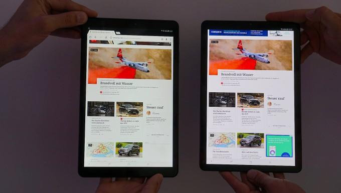 So ist das Samsung Galaxy Tab 4 ausgestattet