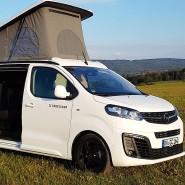 Platz für vier auf kleinem Raum: Opel Crosscamp