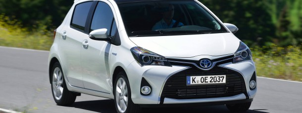 Der Toyota Yaris Hybrid