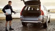 Auch Volvo will das Automobil als Paketstation einsetzen