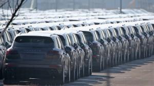 Höchststrafe für Porsche