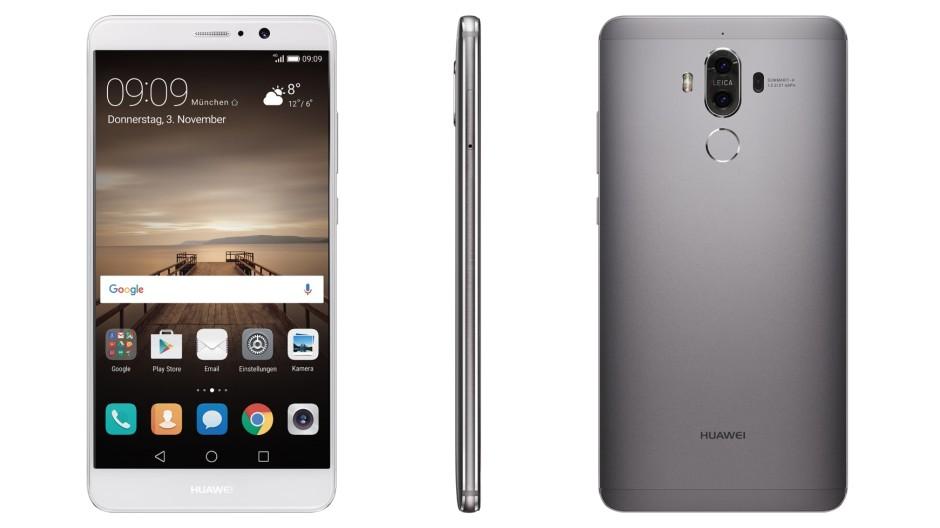 Das Mate 9 von Huawei