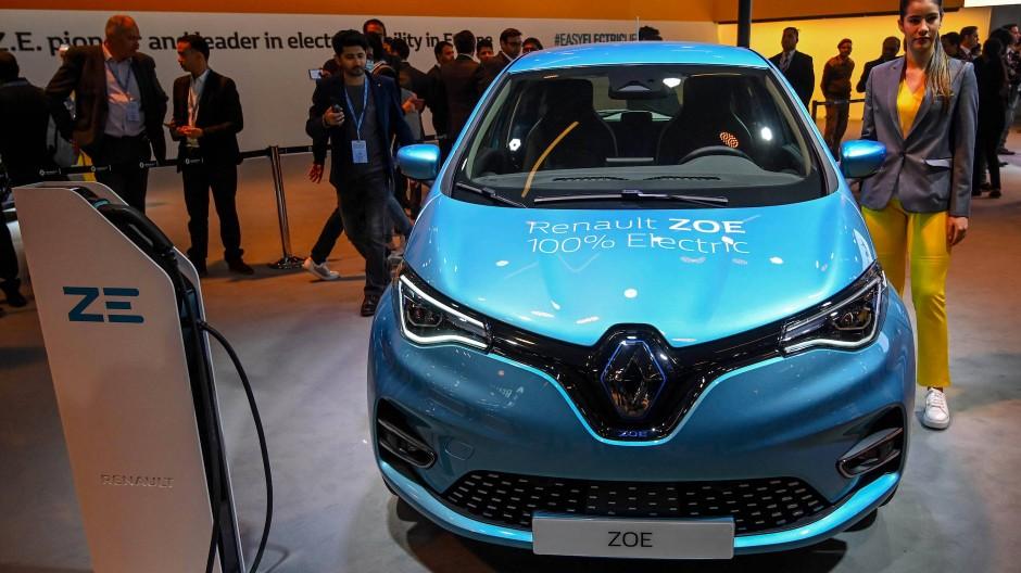 Der Renault Zoe ist das meistverkaufte Elektroauto in Deutschland.