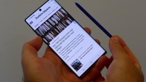 Samsung geht zum zehnten Mal stiften