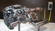 Antriebseinheit des Mercedes S 500 Hybrid