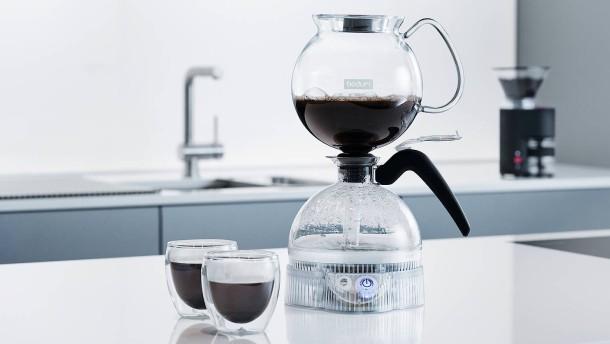 Kaffee zum Kugeln