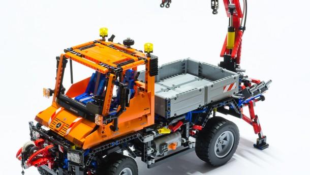 lego technic unimog 400 wir bauen uns einen allesk nner. Black Bedroom Furniture Sets. Home Design Ideas