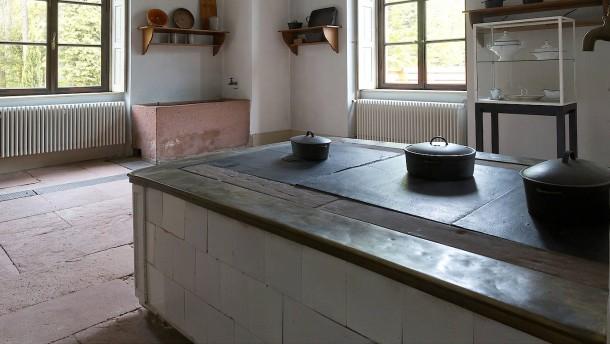 Eine moderne Küche aus dem Jahr 1836