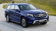 Der größte Geländewagen von Mercedes heißt seit der Umfirmierung in Anlehnung an die S-Luxuslimousine: GLS