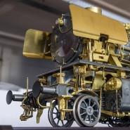 Messing und Zink: Technologiemodell einer Dampflok der Baureihe 41