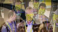 Man fühlt sich unbeobachtet und wird doch fortwährend vermessen: Gesichtserkennung im Einsatz auf der amerikanischen Consumer Electronics Show im Januar in Las Vegas.