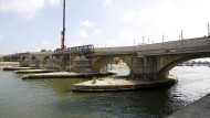 Die Steinerne Brücke in Regensburg