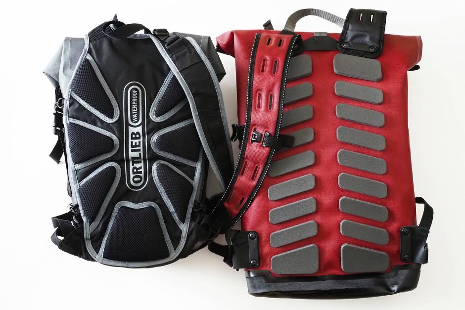 Unterscheiden sich nicht nur im Preis: Der Airflex kostet rund 100 und der Daypack City 130 Euro.