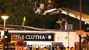 Polizei: Acht Tote bei Hubschrauberabsturz