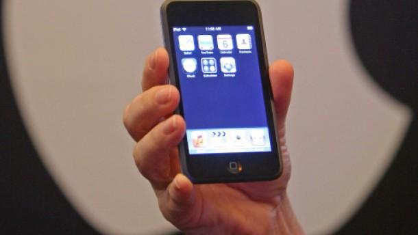 Mit dem iPod ins Internet