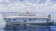 Nimbus 305 mit Elektroantrieb auf Tour rund um den Bodensee
