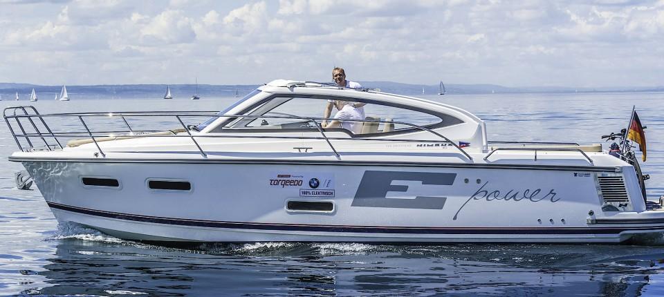 Elektro Yacht Nimbus 305 Drophead E Power Im Test