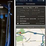 Wo bin ich, wohin geht die Reise und warum ist plötzlich die Sitzheizung eingeschaltet? Smartphone-Anwendungen von Tesla und Land Rover.