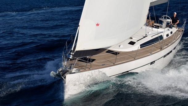 TuM / Bavaria Cruiser 56 / auf See