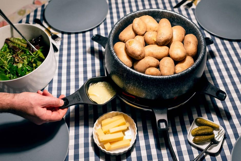 Bilderstrecke Zu Raclette Geräte Von Stöckli Tefal Und