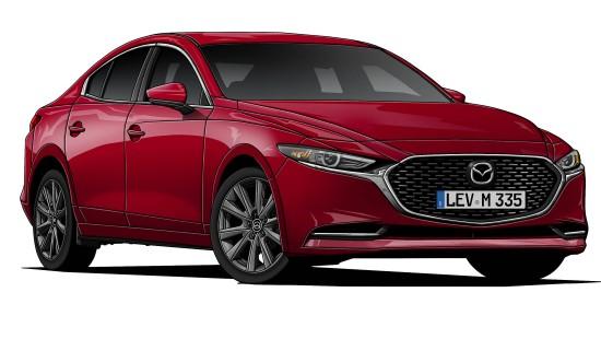 Mazda 3 Fastback Skyactiv-X
