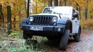 Der Jeep Wrangler in der Hardcore-Ausführung Rubicon