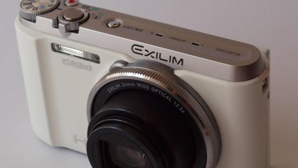 Schnellschuss-Kamera mit Weichspüler