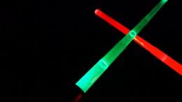 Lichtschwerter im Test
