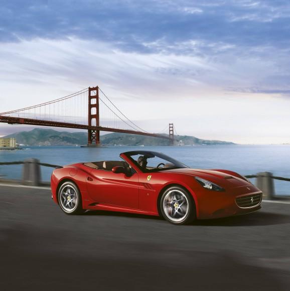 Bilderstrecke Zu Ferrari California Frau Am Steuer Bild 8 Von 8