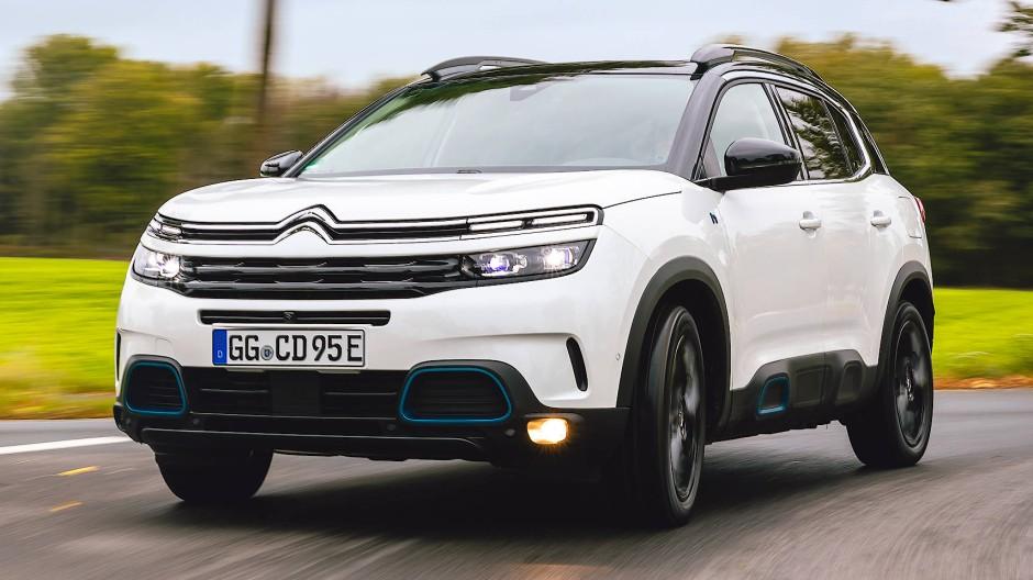 Ohne Scheu gegen VW T-Roc oder Renault Captur: Citroën C5 Aircross