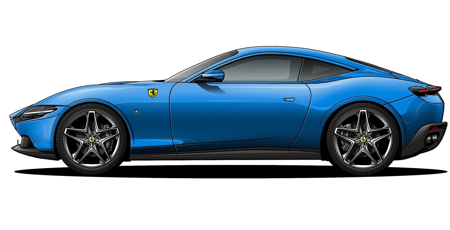 Ferrari Roma Ein Eleganter Gt Mit Beachtlichen Inneren Werten