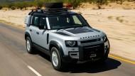 Land Rover Defender: Beeindruckend gut in die Neuzeit transferierte Ikone.