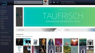 """Die Musikredaktion wird wöchentlich """"taufrische"""" Playlists für die Kunden von Music Unlimited zusammenstellen"""