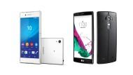Die neuen Top-Modelle Sony Xperia Z3+ und LG G4