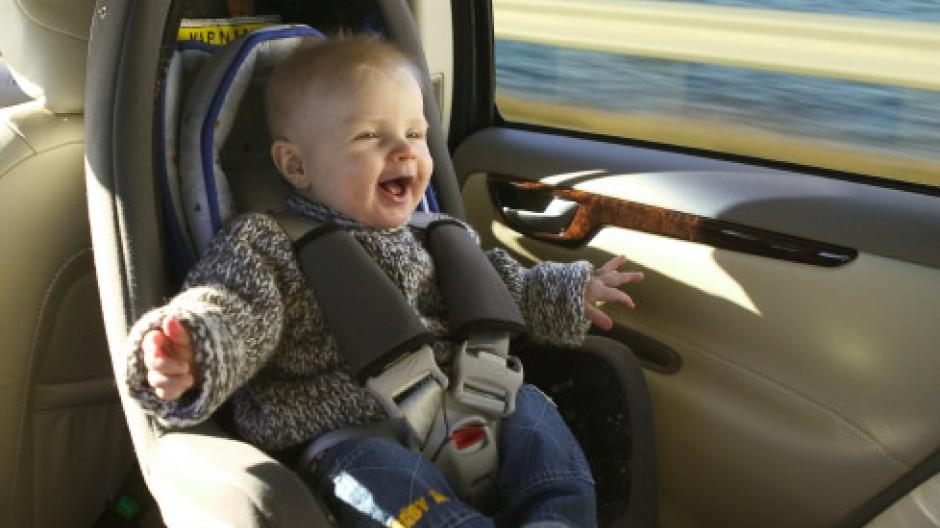 Rückwärts ist besser: Schwedens Kinder fahren am sichersten
