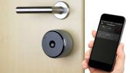 Mit Bluetooth und GPS vor verschlossener Tür