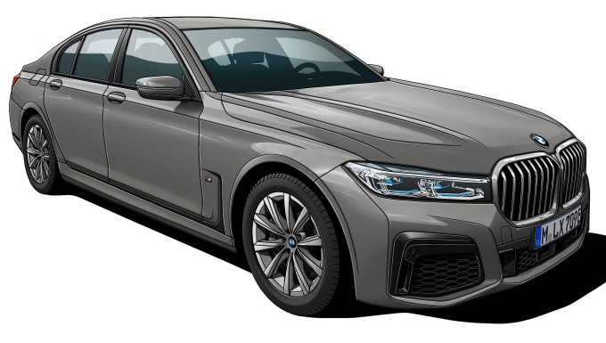 Der BMW 745e